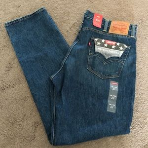 Levi's 511, Made in USA White Oak Cone Denim 38x32